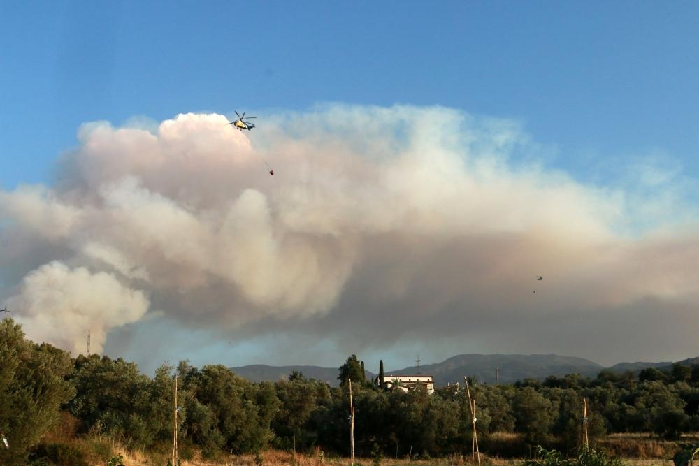 Yangın 2 can aldı. İşte Trodos'taki büyük yangından fotoğraflar galerisi resim 25