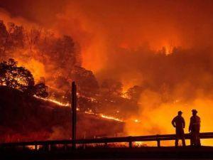 Yangın 2 can aldı. İşte Trodos'taki büyük yangından fotoğraflar