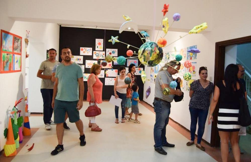 Çocukların eserleri büyük beğeni topladı galerisi resim 1