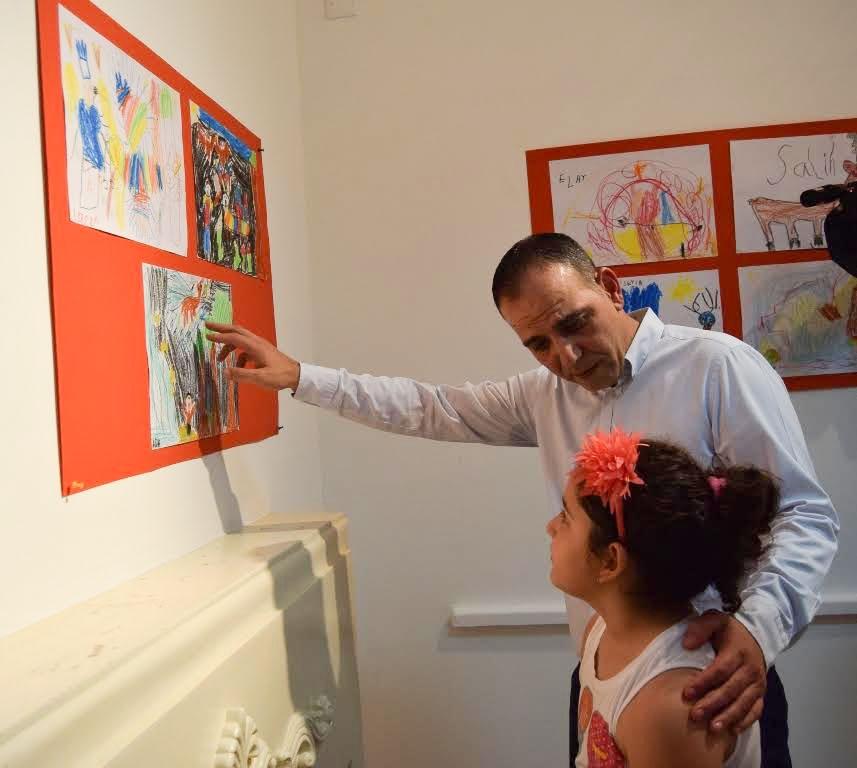 Çocukların eserleri büyük beğeni topladı galerisi resim 2