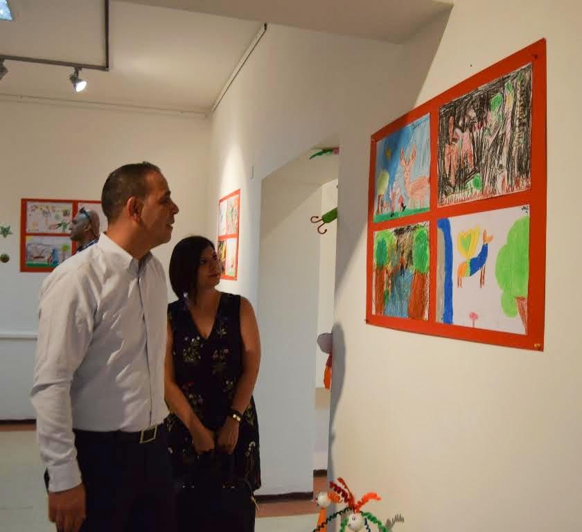 Çocukların eserleri büyük beğeni topladı galerisi resim 3