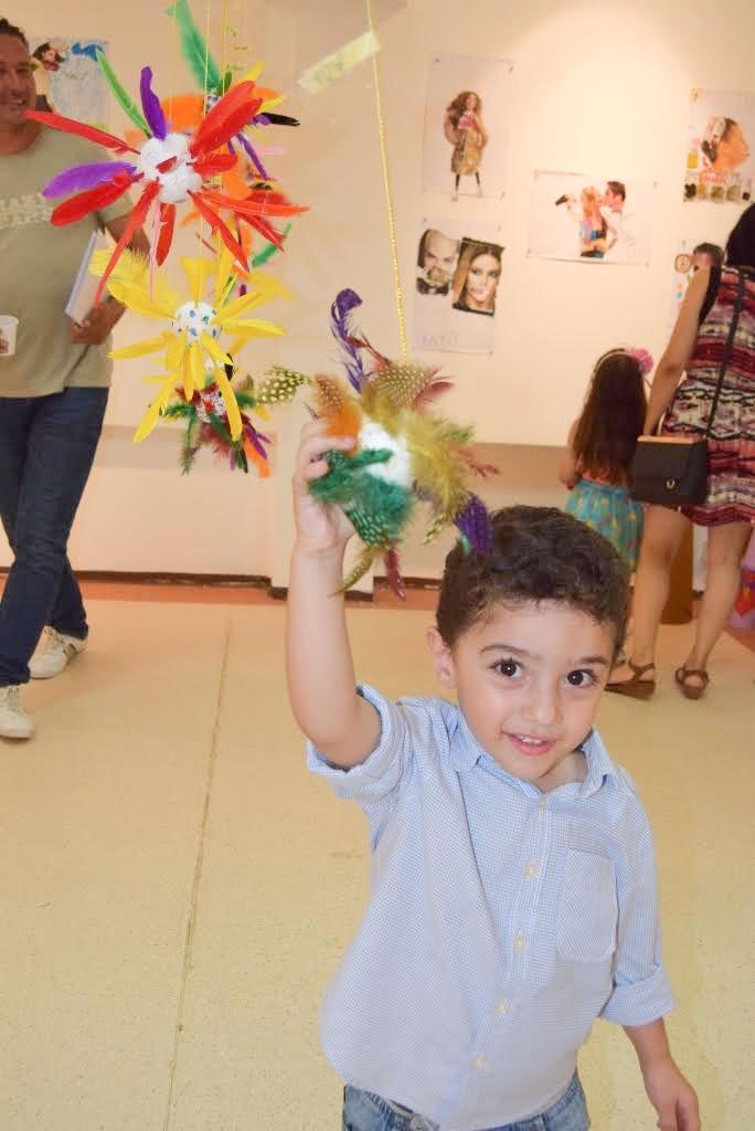 Çocukların eserleri büyük beğeni topladı galerisi resim 4