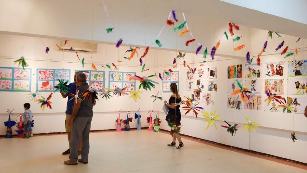 Çocukların eserleri büyük beğeni topladı galerisi resim 5