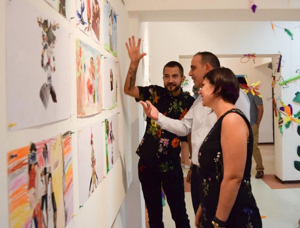 Çocukların eserleri büyük beğeni topladı galerisi resim 6