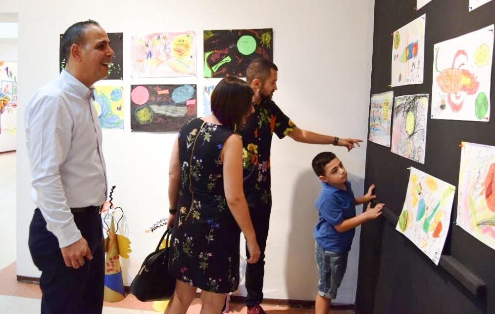 Çocukların eserleri büyük beğeni topladı galerisi resim 7
