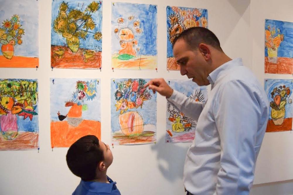Çocukların eserleri büyük beğeni topladı galerisi resim 8