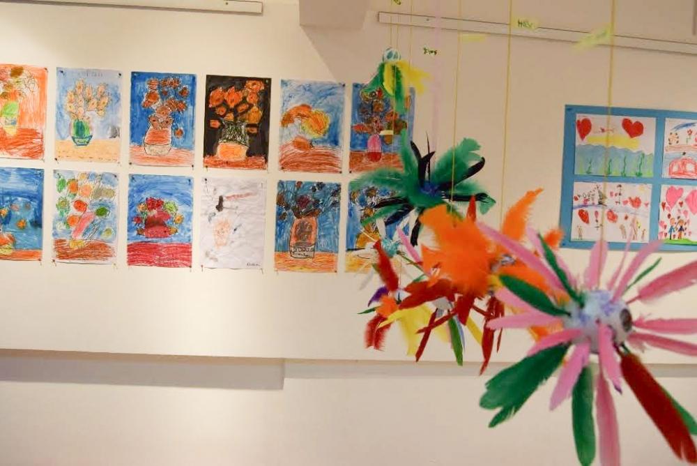 Çocukların eserleri büyük beğeni topladı galerisi resim 9