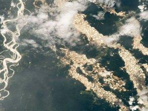 Amazon'un 'altın nehirleri' ortaya çıktı