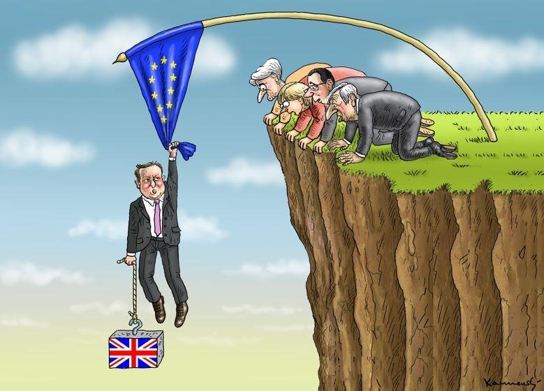 İngiltere AB'den çıkar mı? İşte Karikatürler galerisi resim 1