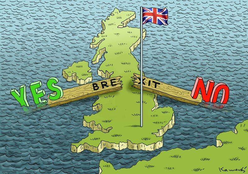 İngiltere AB'den çıkar mı? İşte Karikatürler galerisi resim 13