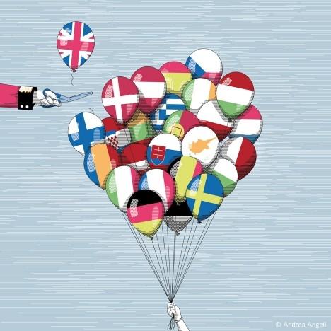 İngiltere AB'den çıkar mı? İşte Karikatürler galerisi resim 14