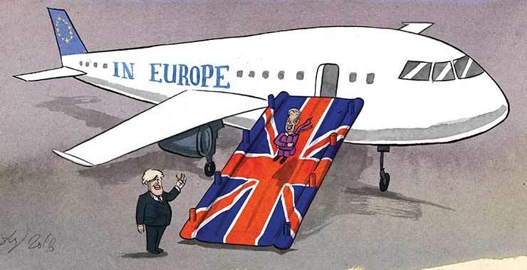 İngiltere AB'den çıkar mı? İşte Karikatürler galerisi resim 16