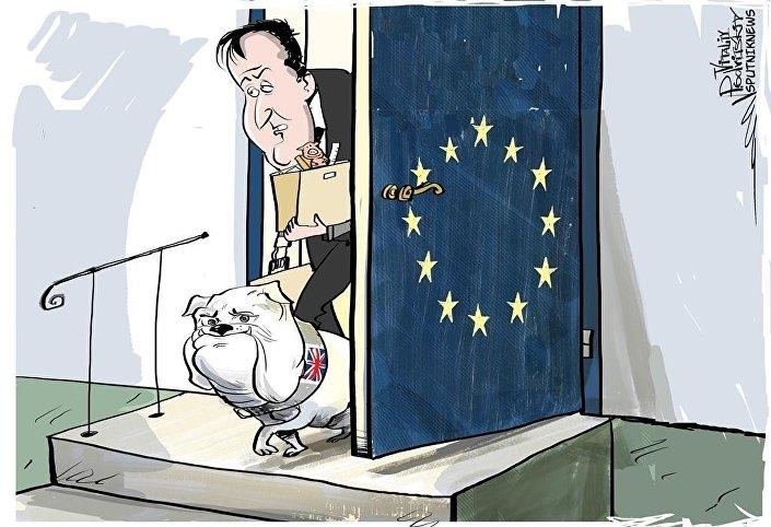İngiltere AB'den çıkar mı? İşte Karikatürler galerisi resim 20