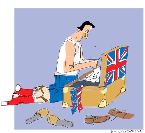 İngiltere AB'den çıkar mı? İşte Karikatürler galerisi resim 21