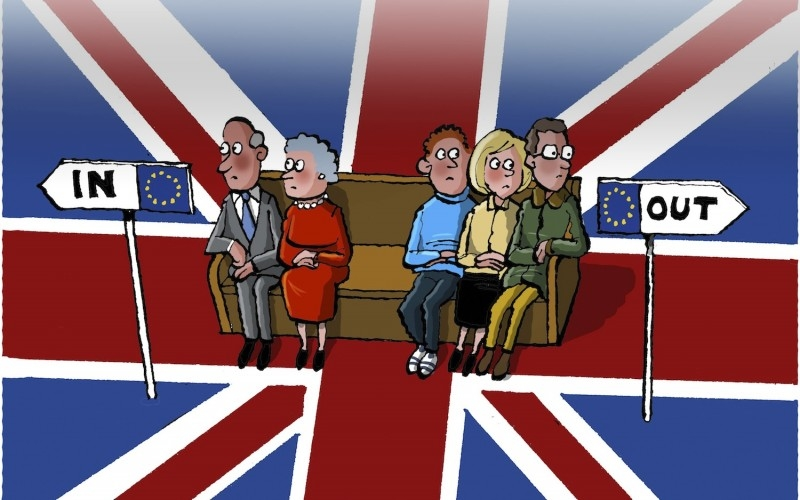 İngiltere AB'den çıkar mı? İşte Karikatürler galerisi resim 22