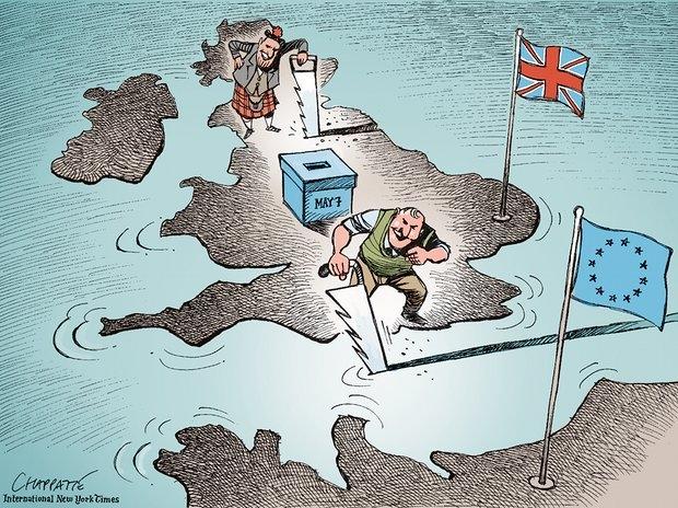 İngiltere AB'den çıkar mı? İşte Karikatürler galerisi resim 23