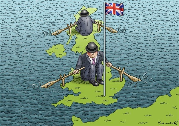 İngiltere AB'den çıkar mı? İşte Karikatürler galerisi resim 24