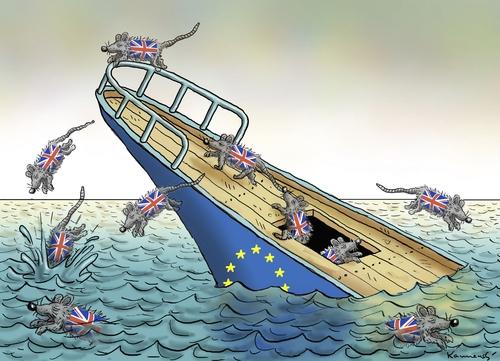 İngiltere AB'den çıkar mı? İşte Karikatürler galerisi resim 26