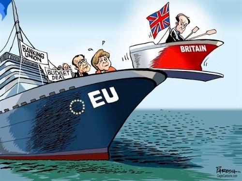 İngiltere AB'den çıkar mı? İşte Karikatürler galerisi resim 4