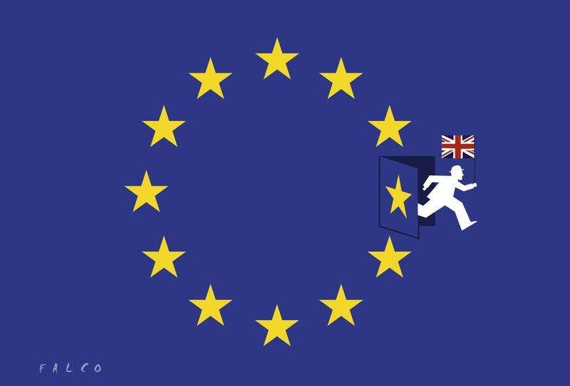 İngiltere AB'den çıkar mı? İşte Karikatürler galerisi resim 5