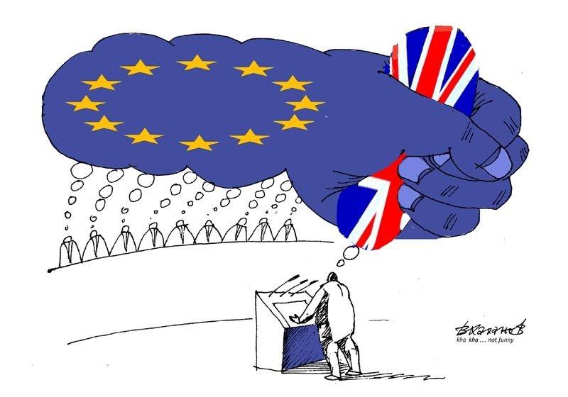 İngiltere AB'den çıkar mı? İşte Karikatürler galerisi resim 6