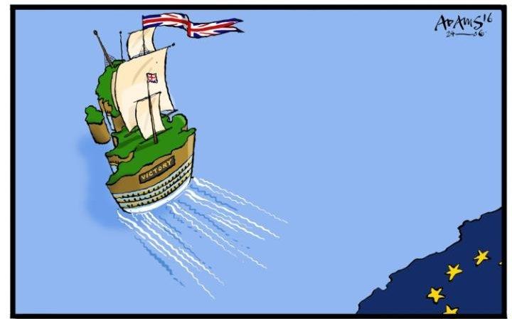 İngiltere AB'den çıkar mı? İşte Karikatürler galerisi resim 7