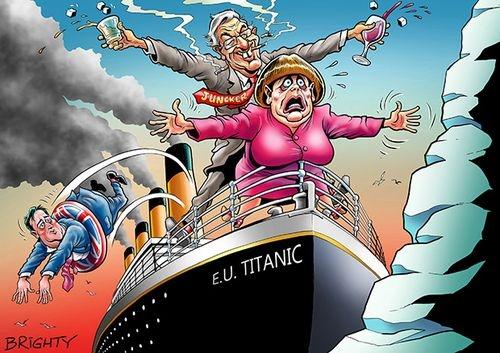 İngiltere AB'den çıkar mı? İşte Karikatürler galerisi resim 9