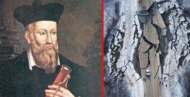 Kahin Nostradamus'un kehanetlerinde insanlığı bekleyen korkunç son! galerisi resim 1