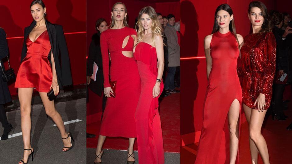Paris'te kırmızı gece galerisi resim 1