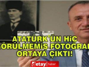 Atatürk'ün daha önce hiç görülmemiş fotoğrafı tam 91 yıl sonra orta