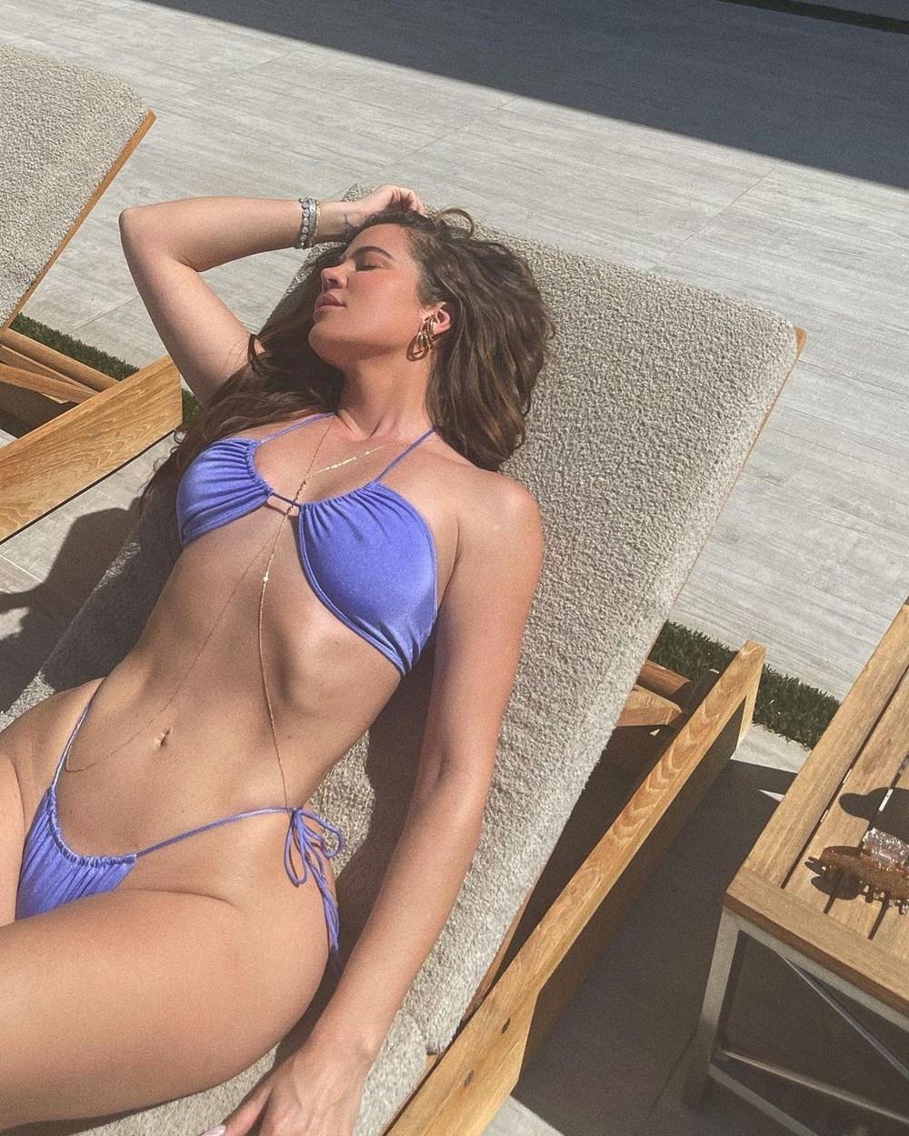 Khloe Kardashian'ın korktuğu başına geldi: Filtresiz fotoğrafı sızd galerisi resim 1