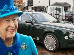 Kraliçe II. Elizabeth'in otomobili satışta