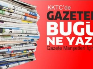 KKTC'de Gazeteler Bugün Ne Manşet Attı? (28 Nisan 2021)