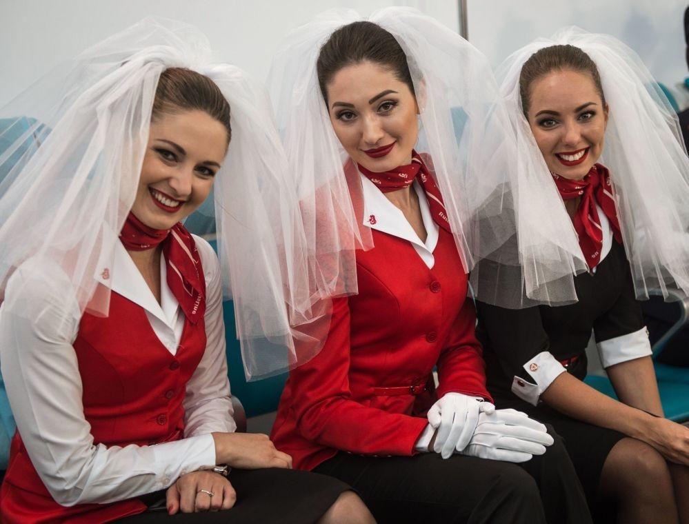 Moskova'da hostes moda defilesi galerisi resim 2