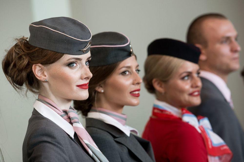Moskova'da hostes moda defilesi galerisi resim 4