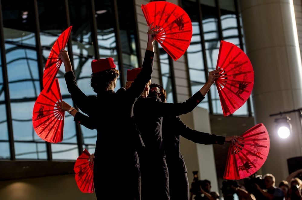 Moskova'da hostes moda defilesi galerisi resim 5