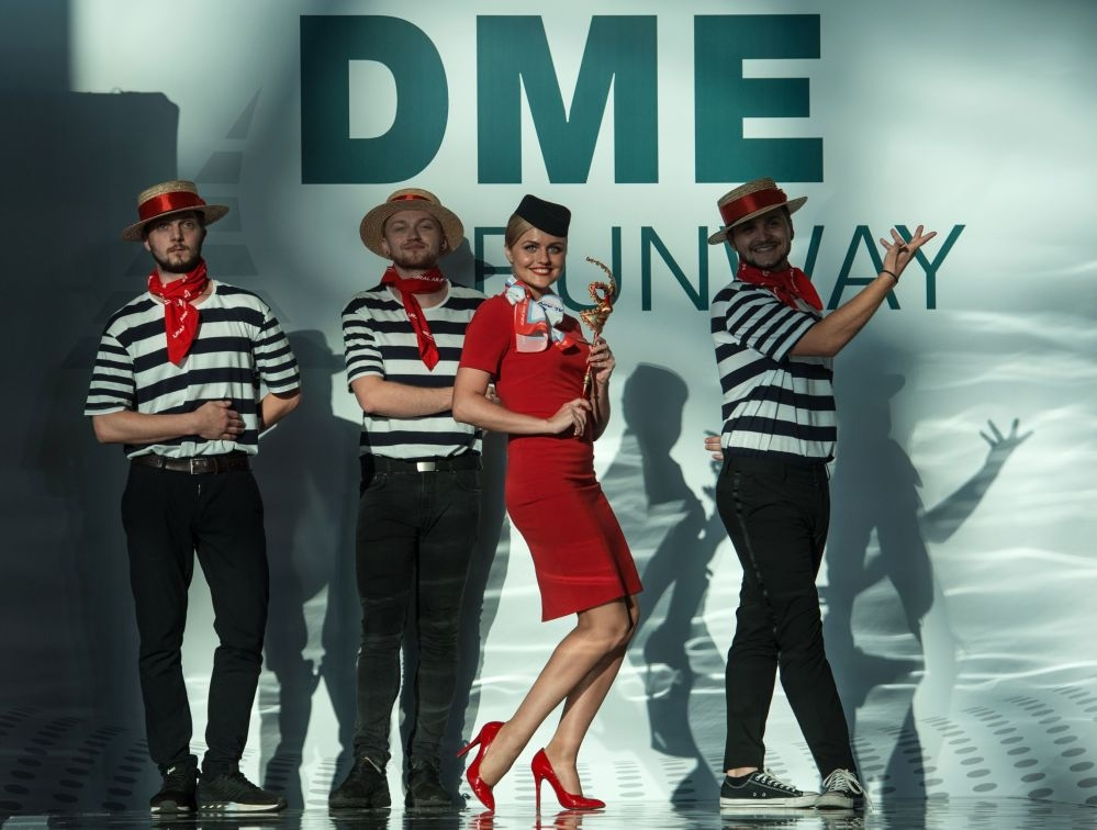Moskova'da hostes moda defilesi galerisi resim 8