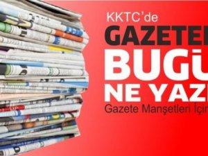 KKTC'de Gazeteler Bugün Ne Manşet Attı? (14 Mayıs 2021)