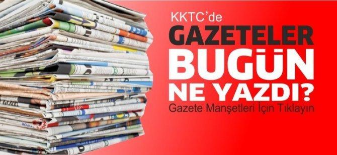 KKTC'de Gazeteler Bugün Ne Manşet Attı? (15 Mayıs 2021)