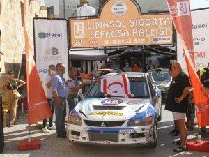 """""""Basel Holding Kuzey Kıbrıs Ralli Şampiyonası""""nın Beşinci Yarışı, Üçüncü"""