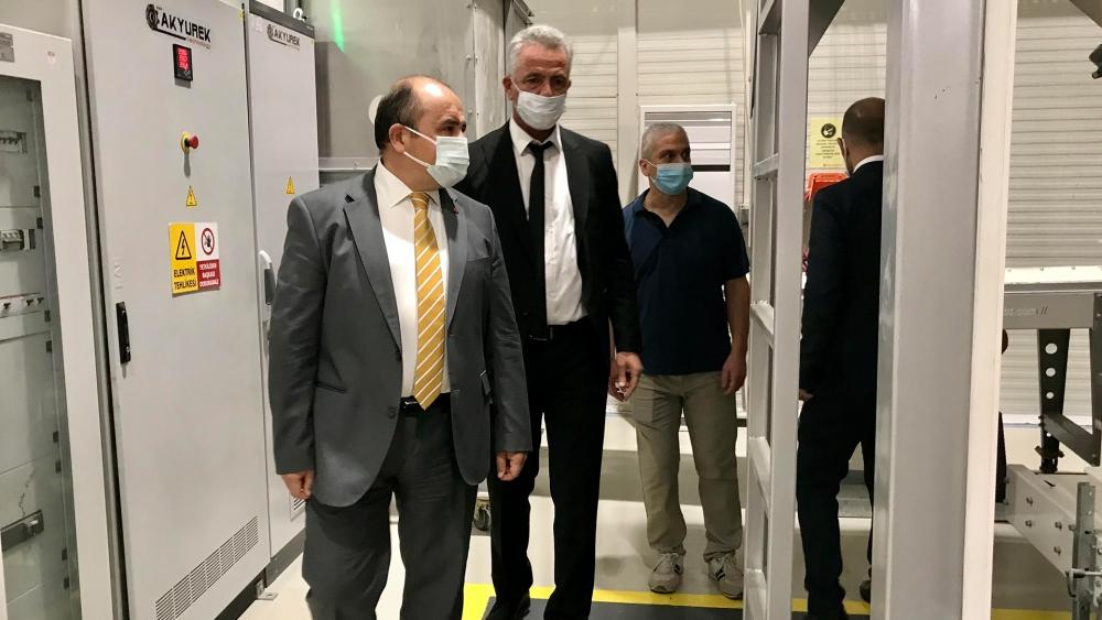 Türkiye'nin Lefkoşa Büyükelçisi Başçeri, Lefkoşa OSB'yi Ziyaret Etti galerisi resim 1