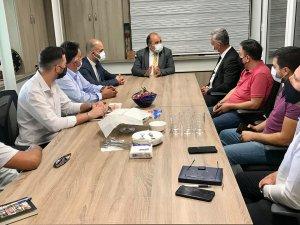 Türkiye'nin Lefkoşa Büyükelçisi Başçeri, Lefkoşa OSB'yi Ziyaret Etti