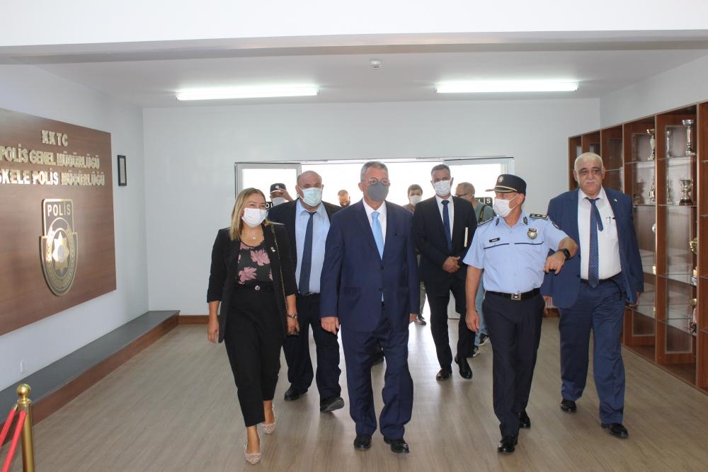 İçişleri Bakanı Evren, İskele'yi Ziyaret Etti galerisi resim 1