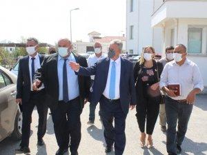 İçişleri Bakanı Evren, İskele'yi Ziyaret Etti