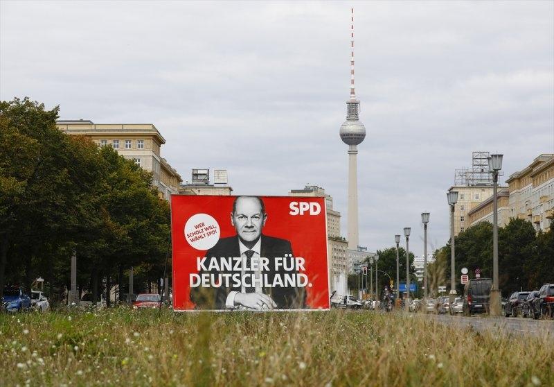 Almanya'da seçim atmosferi galerisi resim 1