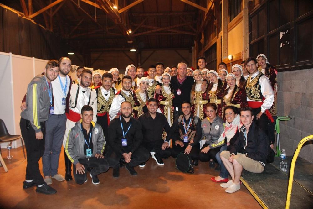 Pergamalı folklor ekibinden Fransa çıkarması! galerisi resim 17