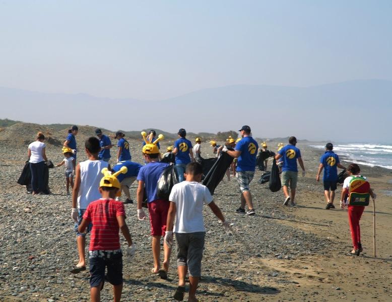 Kuzey Kıbrıs Turkcell'in sahil temizlik etkinliği yapıldı galerisi resim 10