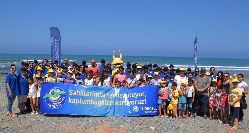 Kuzey Kıbrıs Turkcell'in sahil temizlik etkinliği yapıldı galerisi resim 13