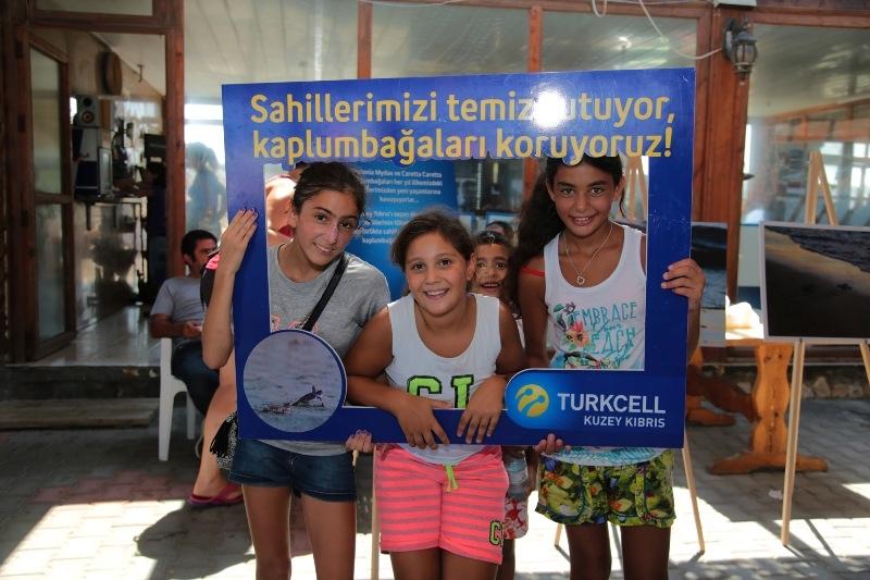 Kuzey Kıbrıs Turkcell'in sahil temizlik etkinliği yapıldı galerisi resim 14