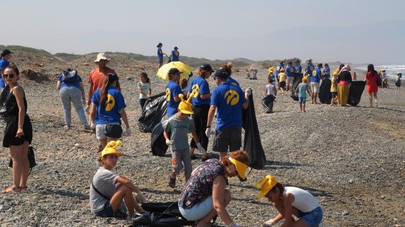 Kuzey Kıbrıs Turkcell'in sahil temizlik etkinliği yapıldı galerisi resim 18